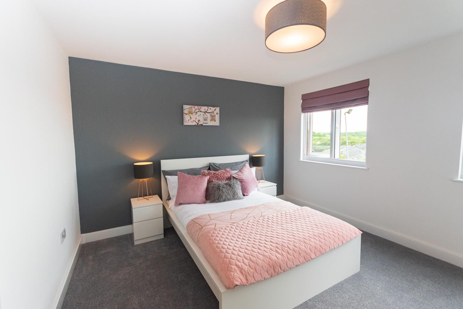 Modular homes - M-AR off-site Show home - Melton - second double bedroom
