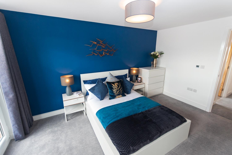 Modular homes - M-AR off-site Show home - Melton - Master bedroom