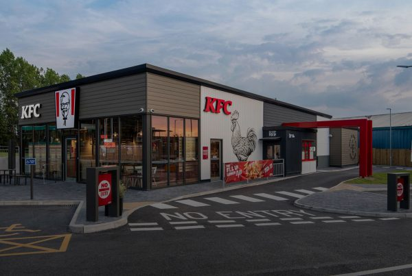 KFC Modular Offsite Restaurant