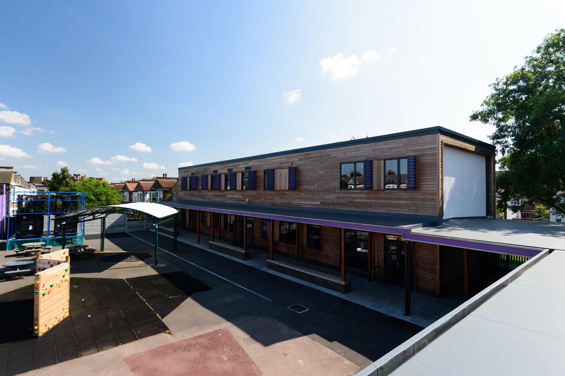 Drumbet School and ASD 6th Form teaching - Modular SEN building