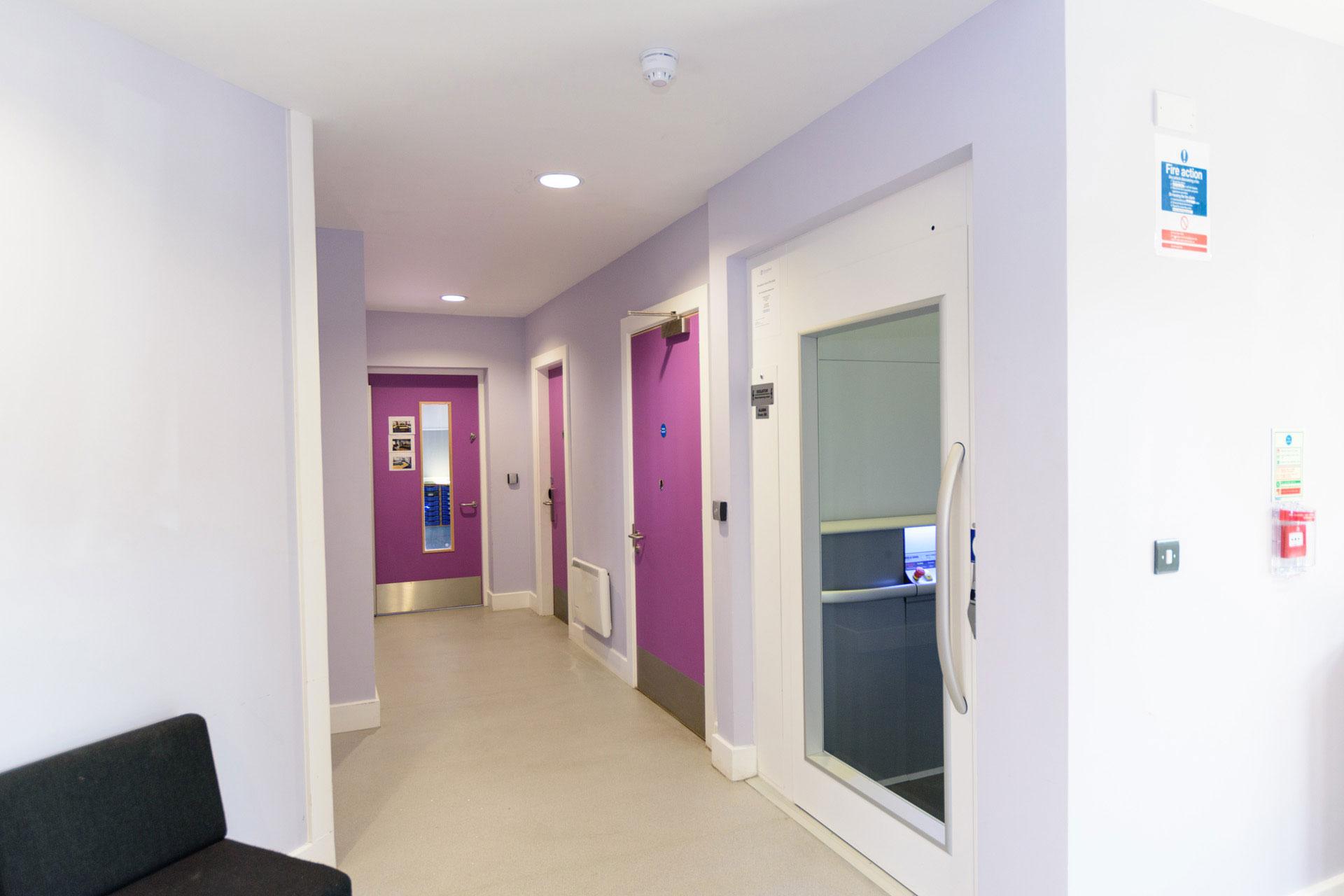Drumbet School and ASD 6th Form teaching - Modular SEN building internal DDA lift