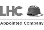 LHC - Modular Building Frameworks appointed company logo