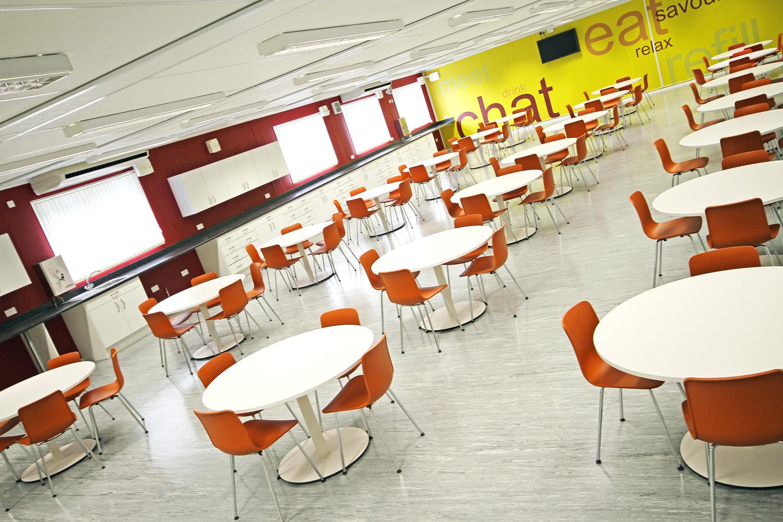Network Rail modular office building canteen