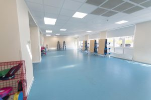 Parkhill Infants and Junior School dining hall Modular building extension