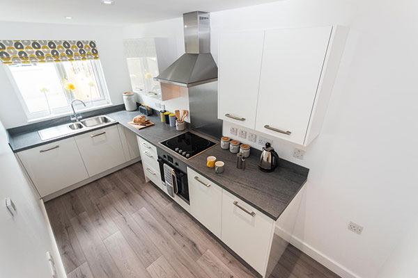 M-AR off-site - Modular Homes - Show home kitchen
