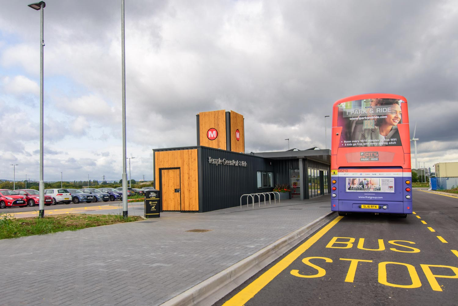 Temple Green Leeds - Modular Park and Ride station