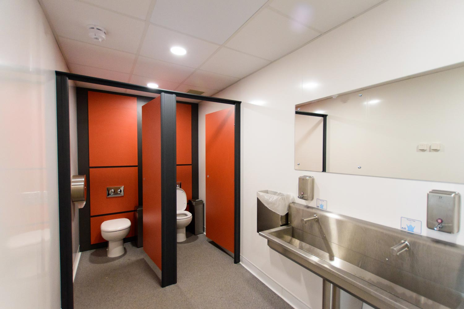 Temple Green Leeds - Modular building Park and Ride station WC facilities