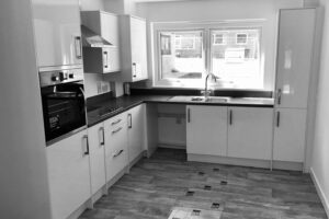 Ward Court modular bungalows M-AR - Kitchen