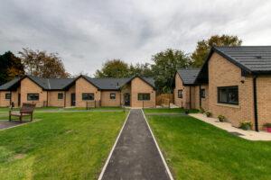 Ward Court modular bungalows M-AR - External