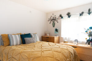Ward Court modular bungalows M-AR - Bedroom