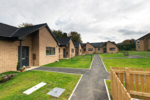Ward Court modular bungalows M-AR - External