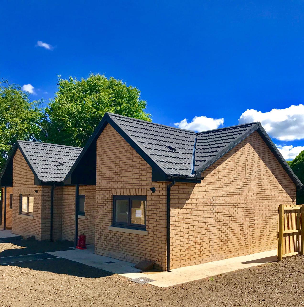 Housing 21 retirement living Modular Bungalows - External view - Ward Court