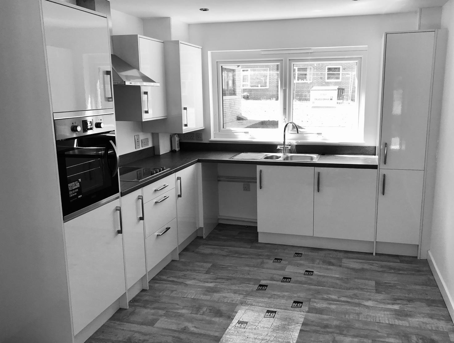 Ward Court Modular Bungalow Kitchen