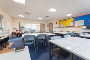 Woodcote Primary school - Modular School expansion - Internal teaching music space classroom
