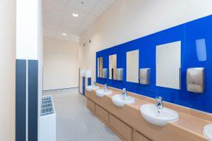 Woodcote Primary school - Modular School expansion - Internal WC Facilities