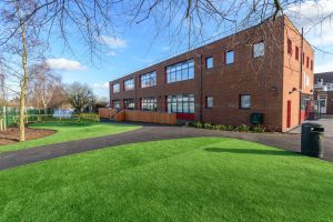 Woodcote Primary school - Modular building - expansion project - external