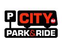 Leeds park and ride logo
