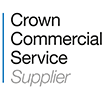 Crown Commercial Service - RM6014 modular framework supplier logo