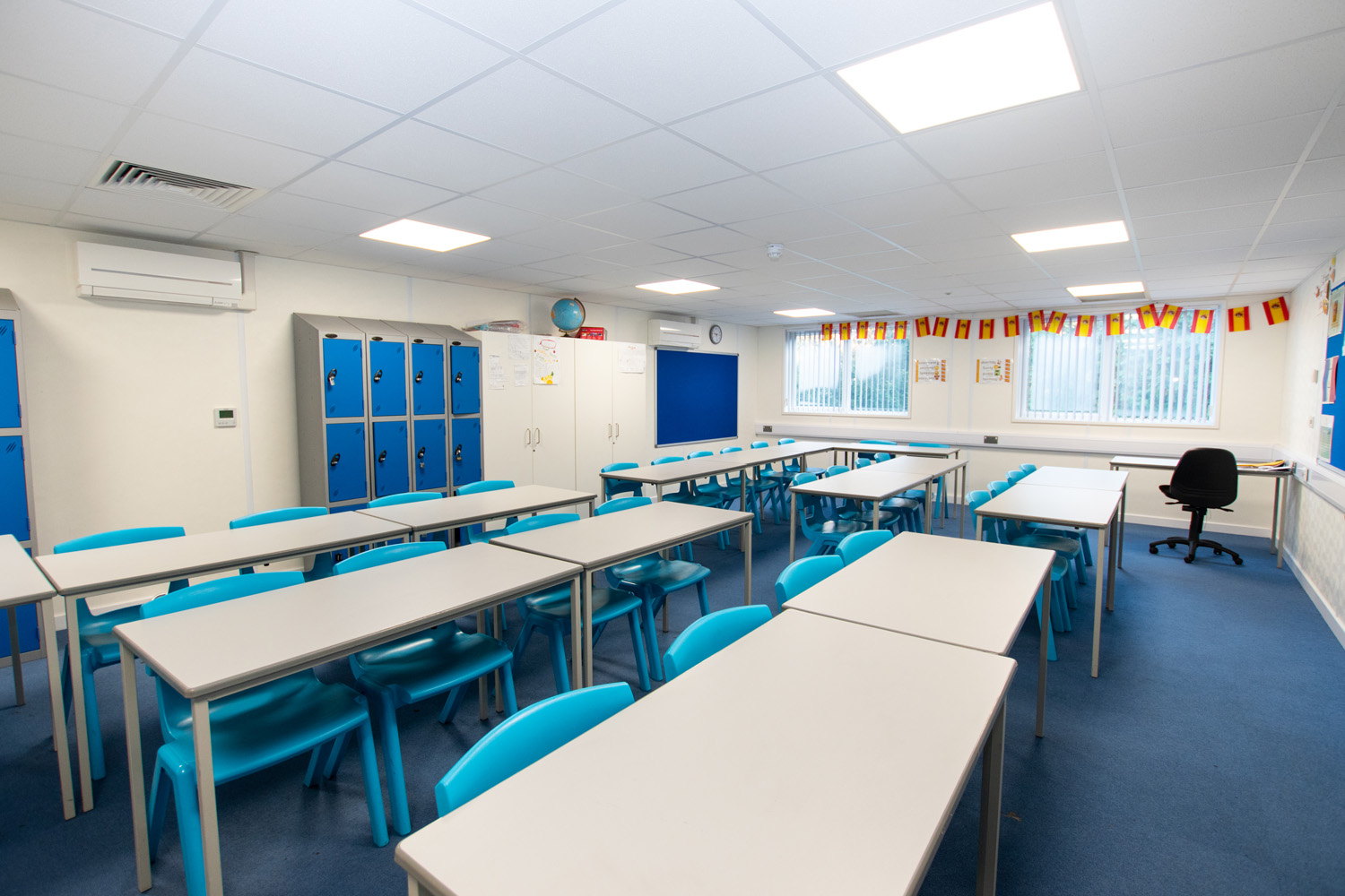 Available NOW – Temporary school ready for the Sept 2020 intake